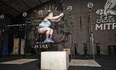 Gabriela Forte executa o Box Jump, confira