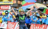 Izagirre completou os 146,5 km entre Megève e Morzine-Avoriaz em 4h06min45, superando o colombiano Jarlinson Pantano, que chegou 19seg depois