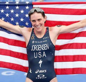 Foi a primeira medalha olímpica de Jorgensen, que é bicampeã mundial de triathlon olímpico (2014 e 2015)