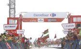 Lagutin completou o percurso em 4h09min30, superando os franceses Axel Domont e Perrig Quéméneur