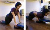 Flexão de tríceps no step