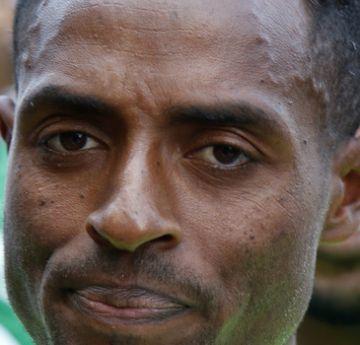 O corredor de longa distância da Etiópia, Kenenisa Bekele, que depois de uma série de contratempos, conseguiu se recuperar com uma a vitória na Maratona de Berlim
