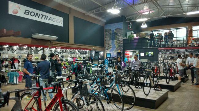Nova Concept Store da Trek, no Panamby (SP)