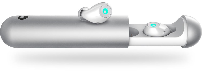 O Air, fone de ouvido sem fio é um produto é resistente à água e ao suor e perfeito para quem treina.