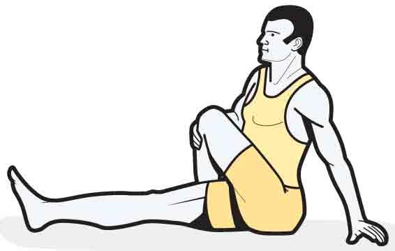 está cruzando as pernas ruim para o nervo ciático