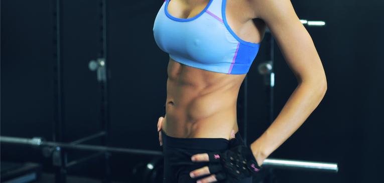 Ficar com o abdômen trincado exige treinamento e muita determinação