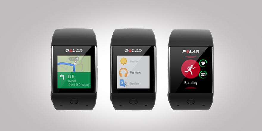 Relógio com GPS Polar M430