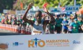 Quenianos superam calor e vencem a Maratona do Rio