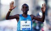 Confirmado em Berlim, Kipchoge mira quebra do recorde mundial da maratona