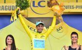 Fabio Aru assumiu a camisa amarela na 12a etapa do Tour de France