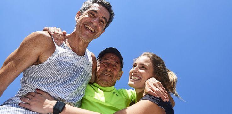 Amor pela corrida: corra o presente em família