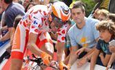 O ciclista espanhol Samuel Sanchez foi pego n