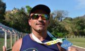 Da escuridão ao triathlon. Cego, Anderson se prepara para o Ironman Florianópolis