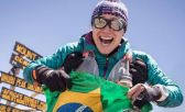A ultramaratonista brasileira Fernanda Maciel
