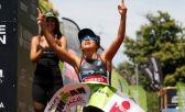 Bárbara Riveros, tetracampeona del Ironman 70.3 Pucón