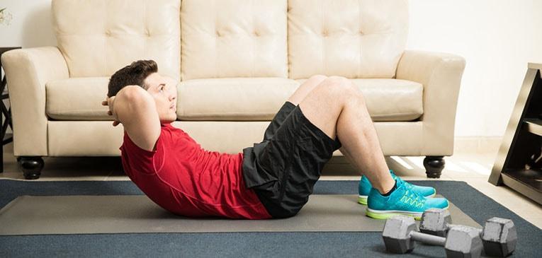 rutina de ejercicios cuerpo completo en casa