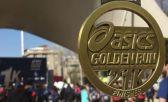 La increíble medalla de la Asics Golden Run Santiago 2018