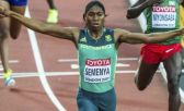La sudafricana Caster Semenya, doble campeon