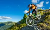 Mountain Bike, en la bajada