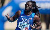 El atleta paralímpico estadounidense Regas