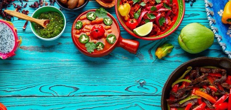Fondo De Comida Mexicana: Alimentos Mexicanos Para La Dieta Del Corredor