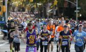 participantes en la Maratón de Nueva York