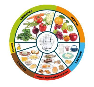 Grupos de la pirámide alimenticia