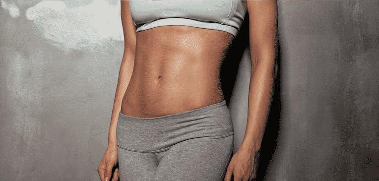 como reducir el estomago sin ejercicio