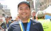Alexandre Faria, feliz con la medalla de Boston, que no le pertenece