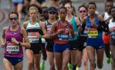 Sinead Diver, al frente del pelotón en la Maratón de Londres