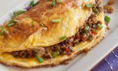 Omelette con arroz