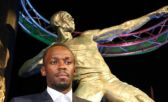 estatua de Usain Bolt
